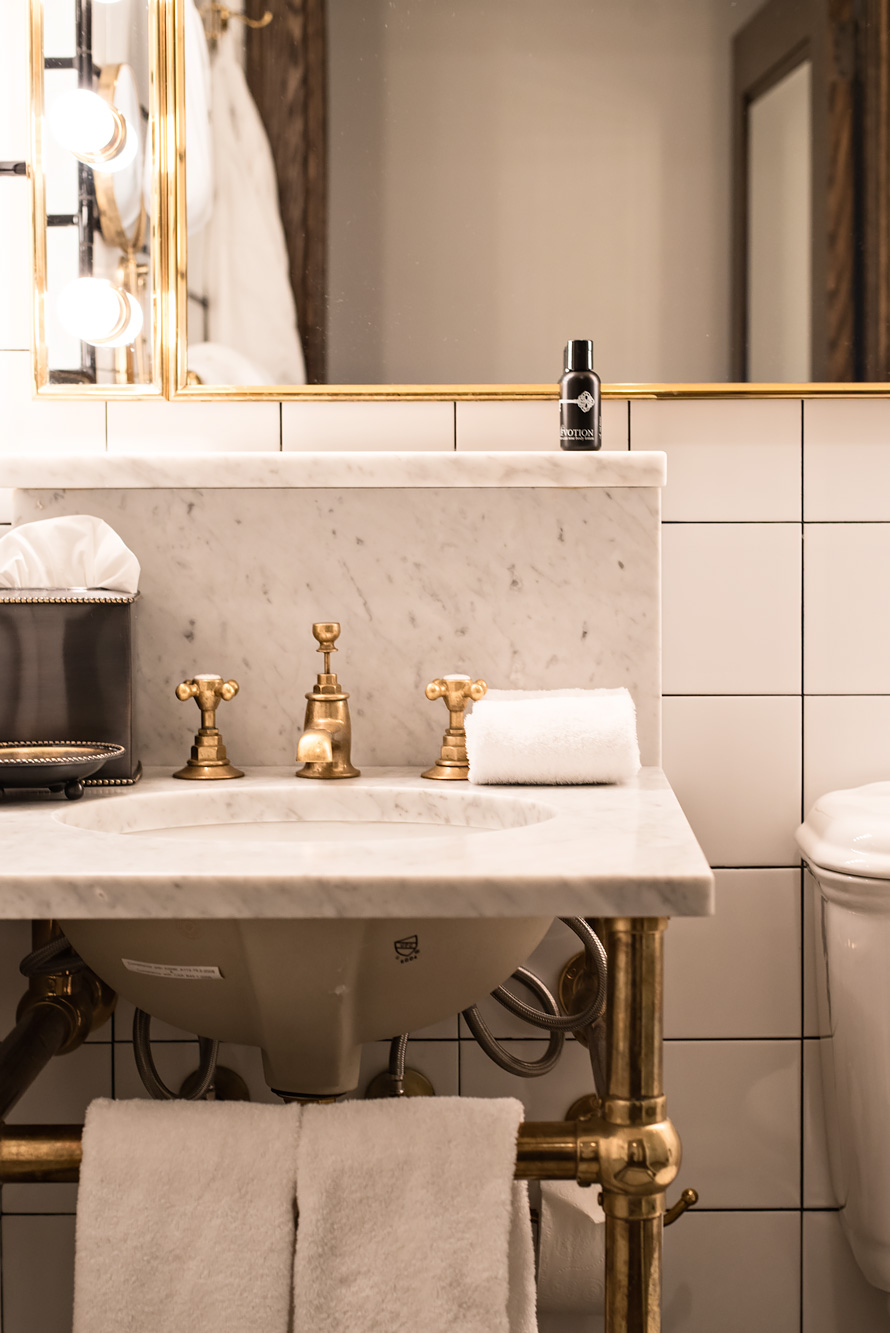Bathroom Sinks New York City the ludlow in nyc - hotel review | urban pixxels