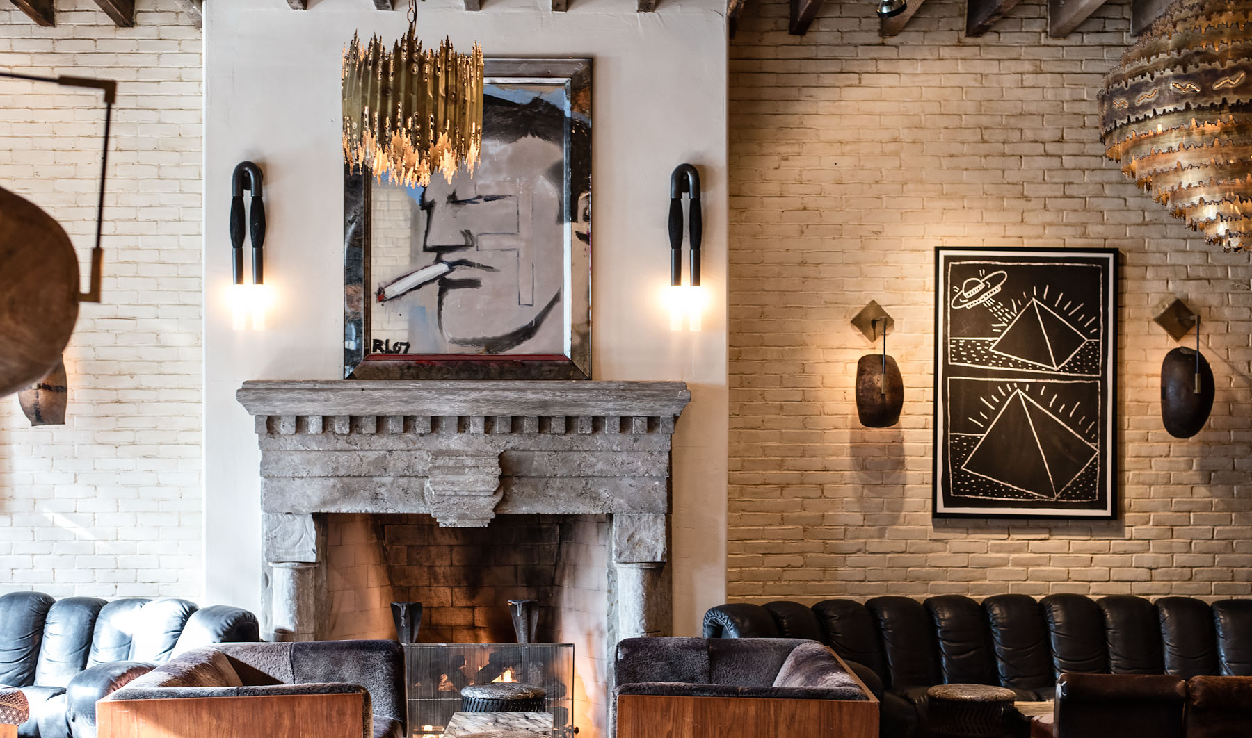 Trendy Boutique Hotel The Ludlow In New York City