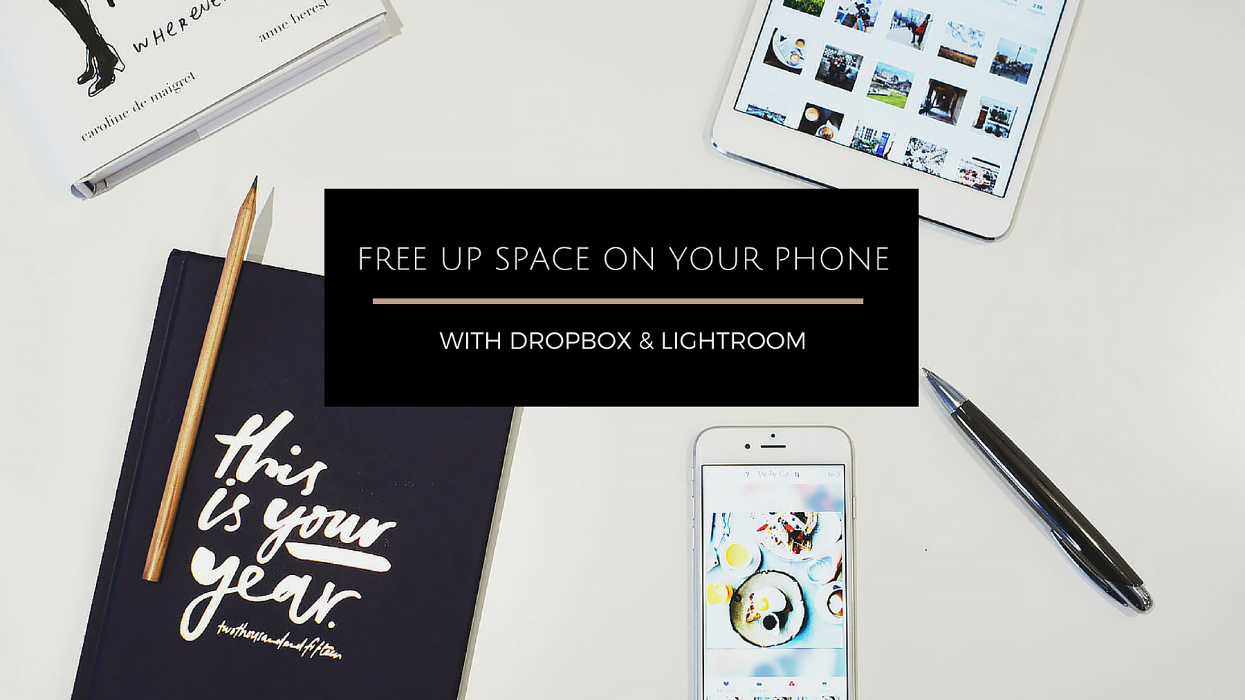 How To Free Up E On Your Phone With Dropbox Lightroom A Great Life