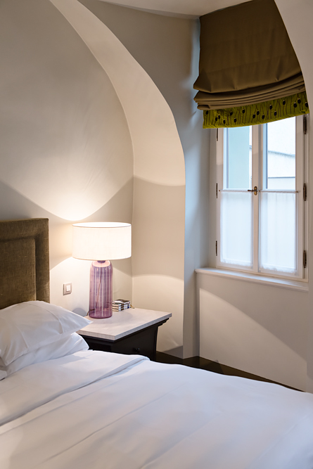 Hotel room at Augustine, a Luxury Collection Hotel in Prague.