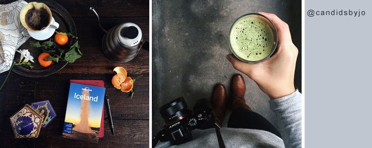 My 3 favorite instagrammers - Candids by Jo