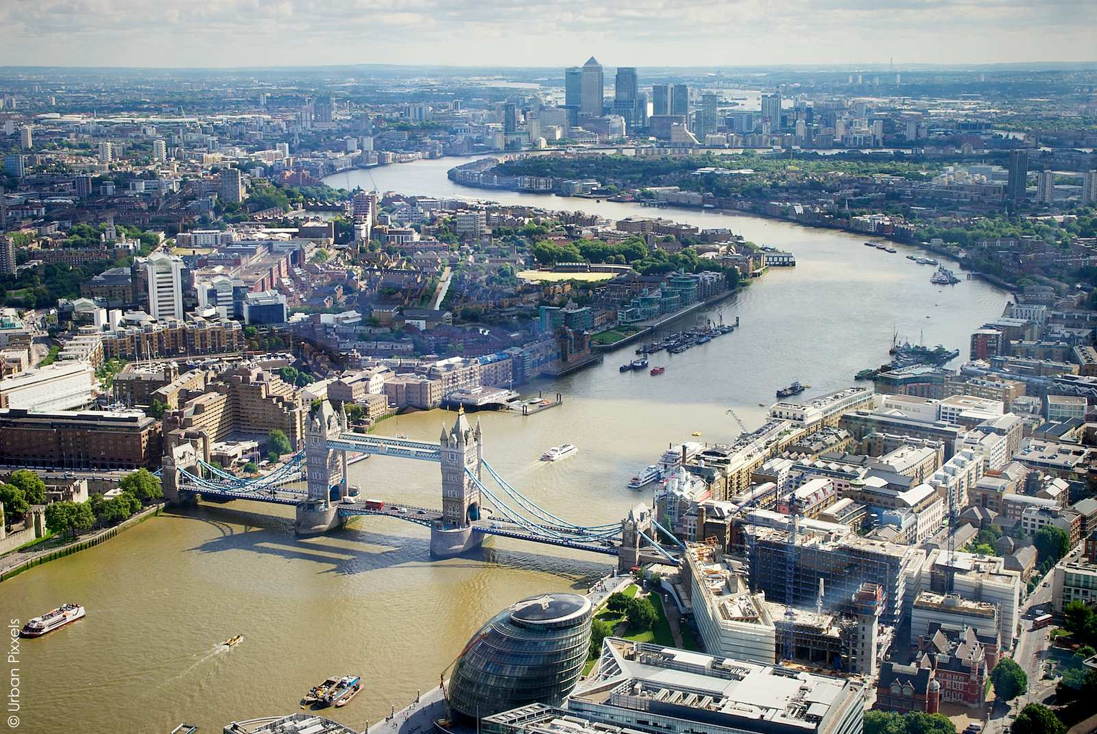 The View from The Shard | Urban Pixxels